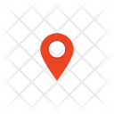 Navigation Location Pin Icon