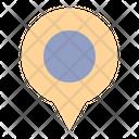 Pin Maps Travel Icon