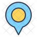 Pin Maps Travel Icon
