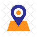 Maps Position Tag Icon