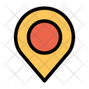 Location Pin Navigation Gps Icon