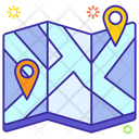 Location Pins Icon
