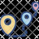 Location pins Icon
