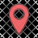 Location Point Location Pointer Location Pin Icon