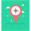 Location Pointer Geolocation Gps Icon