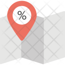Location Pointer Market Icon