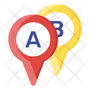 Location Pointers Internet Location Location Pins Icon