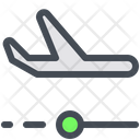 Location Position Airplane Flight Icon