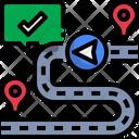 Location Route Icon