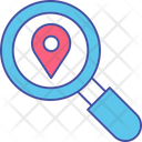 Navigational Search Location Search Location Analysis Icon