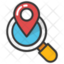 Search Map Location Icon