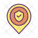 Msecurity Map Location Security Location Protection Icon