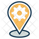 Location Services Nevigation Service Map Service Icon