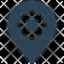 Seo Location Setting Icon