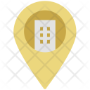Location Sign Court Icon