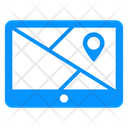 Location Software Tracking Software Online Map Icon