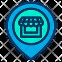 Location Pin Shop Icon