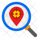 Location Target Search Target Icon