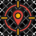 Target Navigation Direction Icon