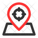 Location Target Target Current Icon