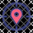 Map Pin Location Target Destination Target Icon