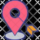 Location Targeting Geo Targeting Target Destination Icon