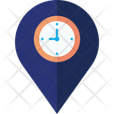 Location Time Icon