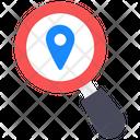 Location Tracker Search Location Location Exploration Icon