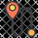 Location trekking Icon