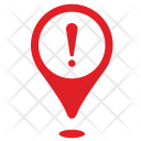 Location Warning Icon