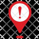Location Warning Icon