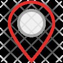 Locator Pin Map Icon