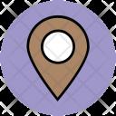 Locator Location Pin Icon