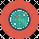Locator Radar Satellite Icon