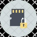 Lock Sign Microchip Icon