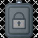 Lock Carkey Key Icon