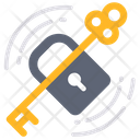 Lock Unlock Key Icon