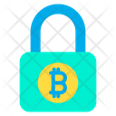 Bitcoin Security Bitcoin Safety Bitcoin Protection Icon