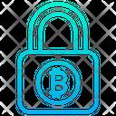 Bitcoin Security Bitcoin Safety Bitcoin Protection Icon