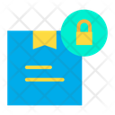 Lock Parcel Lock Package Lock Pack Icon