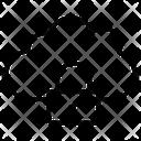 Lock Private Cloud Icon