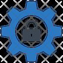 Lock Setting Private Icon