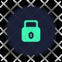 Lock Shut Seal Icon