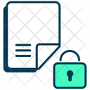 Lock Data Protection File Protection Icon
