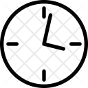 Lock Watch Wall Icon