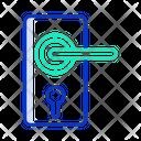 Door Lock Lock Door Security Icon