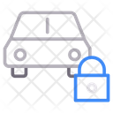 Lock Protection Car Icon