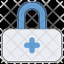 Lock Plus Secure Icon