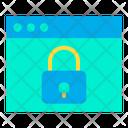 Lock Webpage Lock Website Block Webpage Icon