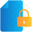 File Lock Secure Icon